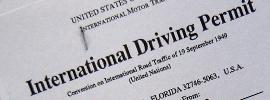บริการเดินเรื่องขอใบอนุญาตขับขี่สากล