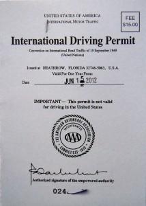 บริการทำใบอนุญาตขับขี่สากล