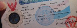 Non-Immigrant Visa-O (Thai Spouse)